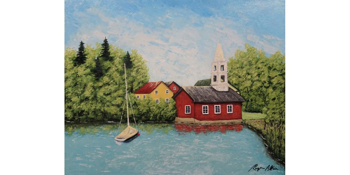 Paisible Village 16 in x 20 in